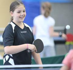 Julia Stellpflug hatte dieses Wochenende zwei Einsätze: In der Mädchen-Kreisliga und der Damen-Kreisliga.