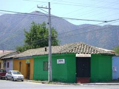 Calle Pedro de Miranda esquina Cabo Moena en Plaza de Armas antes del terremoto de 2010