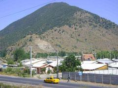 Vista panorámica del cerro Tren-Tren
