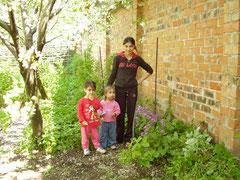 Alina mit Larissa und Vanessa