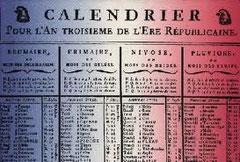 Le Calendrier Revolutionnaire.La Revolution Troyes D Hier A Aujourd Hui