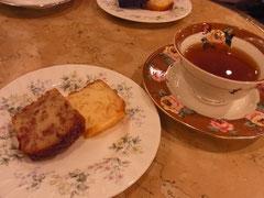 ☆この日のパウンドケーキは<薔薇&オレンジ>または<チョコ&オレンジ>