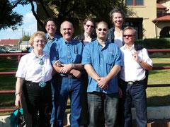 Vorstand FW Gesellschaft - von links nach rechts: Hilde Horchler, Annemone Heles, Gereon Kohl, Michèle Schneider, Dirk Neibecker, Ruth Mereien-Gürke, Jürgen Backes