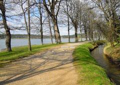 Promenade autour du lac de St.Ferréol (Haute Garonne)