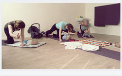 Baby Yoga bei Sonja Rakow