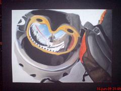 Bild gemalt von der Betreuerin Antonia Grewe