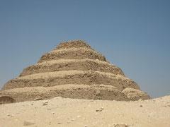Pyramide à degré de Saqqarah