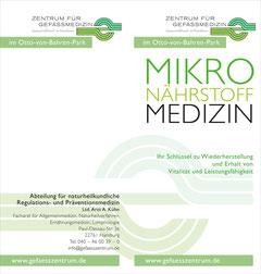 Infomaterial zum Thema Mikronährstoffmedizin zum Herunterladen.
