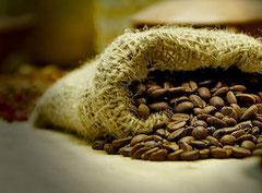 erlesene Kaffeebohnen
