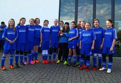 So sehen Siegerinnen aus... Die U13-Juniorinnen des SV Rhenania Bottrop