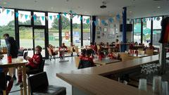 Mittagessen im Vereinsheim des SVR