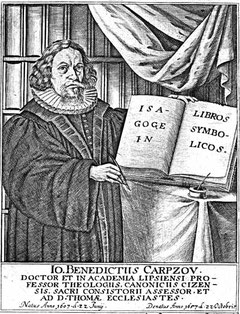 Johann Benedikt Carpzov I.