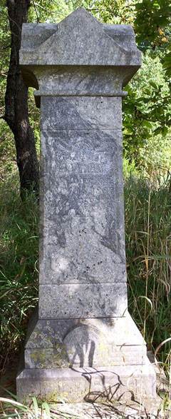 This monument marks the grave of Mordecai Springer, 1811-1887.