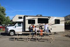 (写真6)Motorhomeで国立公園巡り