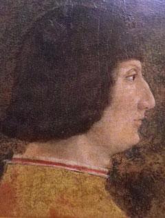 Galeazzo Maria Sforza in un ritratto di Zanetto Bugatto