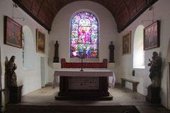 L'autel de l'église.