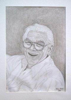 Erich Prohn - gezeichnet von Claus Koch