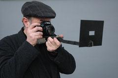 Kurt Buchwald mit Kamera