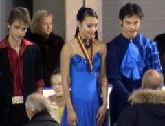 Christina und William Beier, Deutsche Meister im Eistanzen 2010 und Olympiateilnehmer in Vancouver 2010