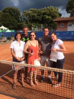 Von links nach rechts unsere WSV-Akteure: Veronique Appelmann, Marco Appelmann, Beate Trapp, Oliver Bergamm und Sabine Schürmer