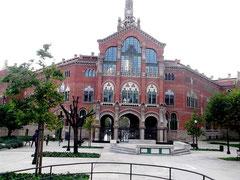 Empfangs- und Verwaltungsgebäude  (Rückfront)