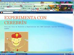 """Blog """"Experimenta con Cerebrín"""""""