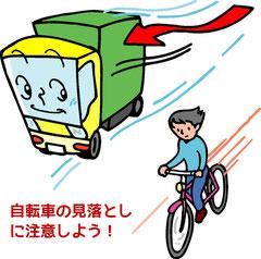 自転車との追突事故