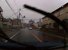 雨 ワイパー 交通安全 事故防止