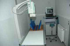 Unsere digitale Röntgeneinheit