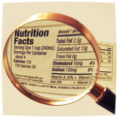 reading food labels for weight loss