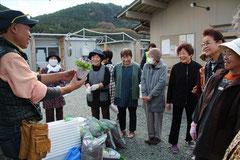 熊本の仮設住宅にて