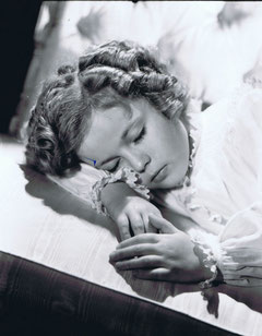 SHIRLEY TEMPLE par GEORGE HURRELL
