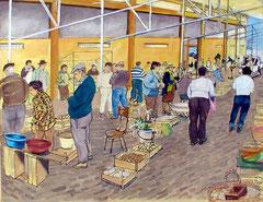 Lagos, Algarve, Gemüsemarkt