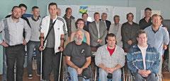 Photo de groupe au Normandy à Granville le samedi 25 aout à l'occasion de la conférence de presse