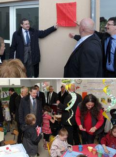 Inauguration à Moyon, 17 mai 2013