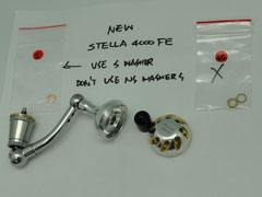 Click to enlarge - 30mm Reel Knob Upgrade & Replacement for Stradic 2500 Reel