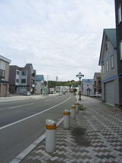 浦河のメイン道路