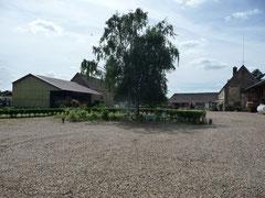 la ferme de la Loge, vue depuis le gîte de la Loge