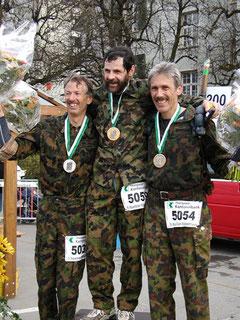 Kategorie M50 - Frauenfelder Militärwettmarsch 2005