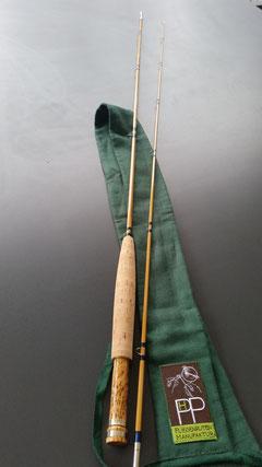 Herstellung einer GESPLIESSTEN PHP Fliegenruten Manufaktur