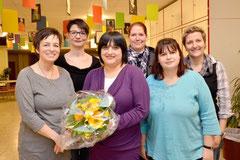 von links: Petra Rutt, Anita Ernst, Claudia Treiber, Stefanie Klopatowski, Andrea Schefczik, Katrin Hechler