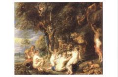 ニンフとサテュロス