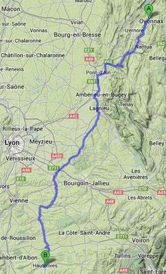 Oyonnax - Hauterives