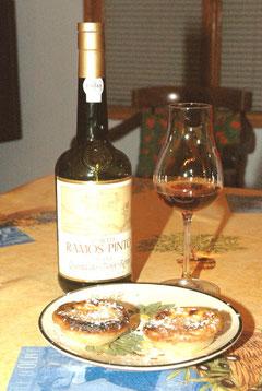 Ervamoira (20 year old tawny) + dois pastéis