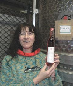 Christina Martinesa Civaleszka et les 50 cl rosé