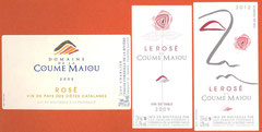D' IGP en VDP, le Rosé de la Coume Majou