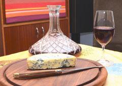 Lait (pasteurisé) de 3 Shires et son verre lusitanien