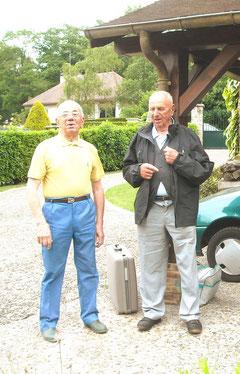 Pierre (à g.) et André