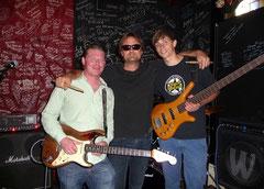 Gut gelauntes Power-Trio (v.l.): Brian Tambling, Rob Spijker, Steven Scheffer (Foto: Nilles)