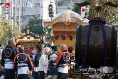 〈花畑鷲神社大祭〉本社神輿渡御 @2012.10.07